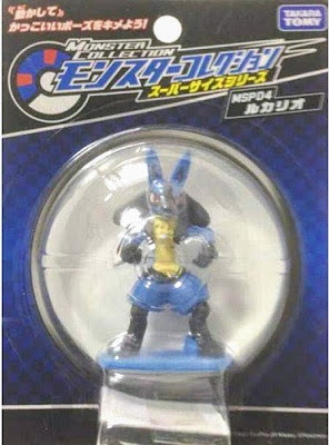 Lucario figure super size in Takara Tomy Monster Collecton MSP series