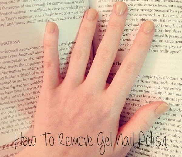 The Blush Blonde: How To Remove Gel Nail Polish