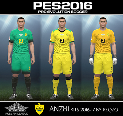 Anzhi kits 2016-17 by ReQzO
