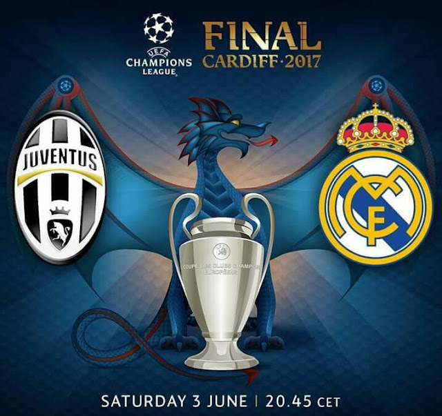 Live Streaming Juventus vs Real Madrid Final Champions League 4.6.2017|