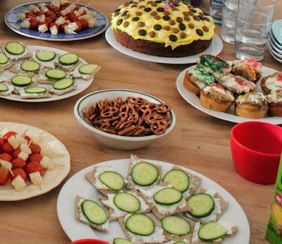 Photo birthday food