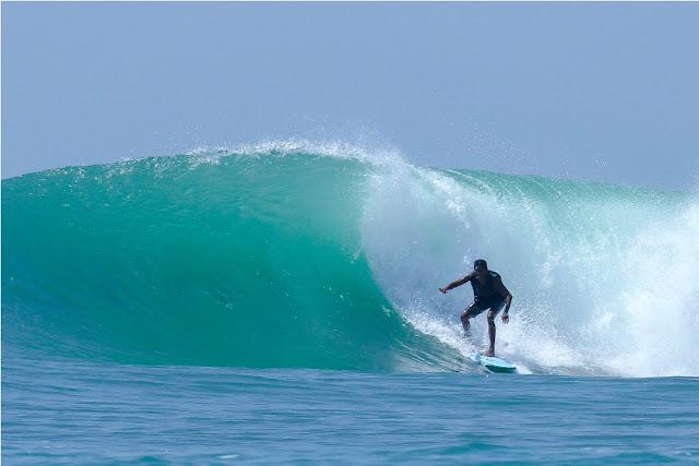 Aceh Surfing Festival di Lampuuk Berlangsung Meriah