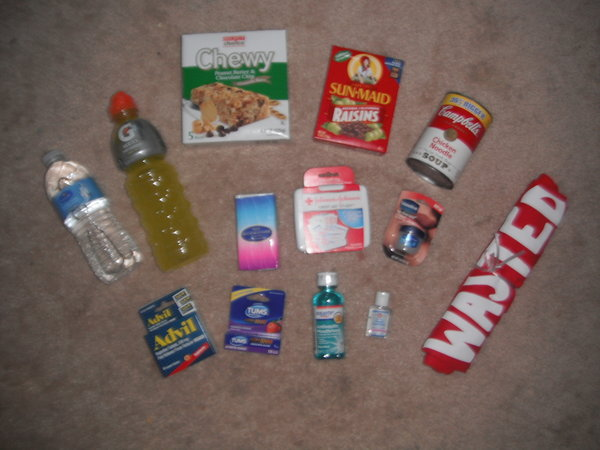 DIY 21st Birthday Hangover Kit