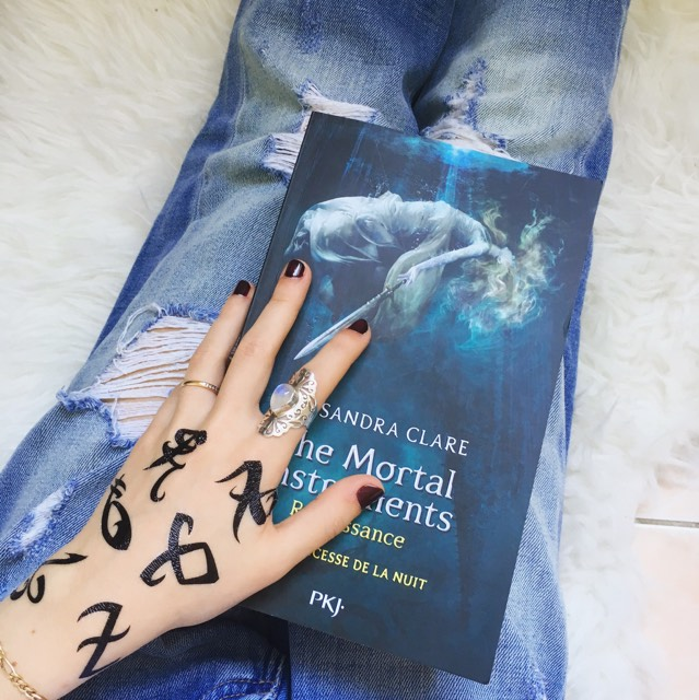 The Mortal Instruments- Renaissance tome 1: La princesse de la nuit de Cassandra Clare Coin des licornes Blog littéraire Toulouse