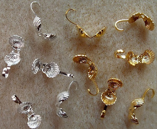 gold plated necklace findings
