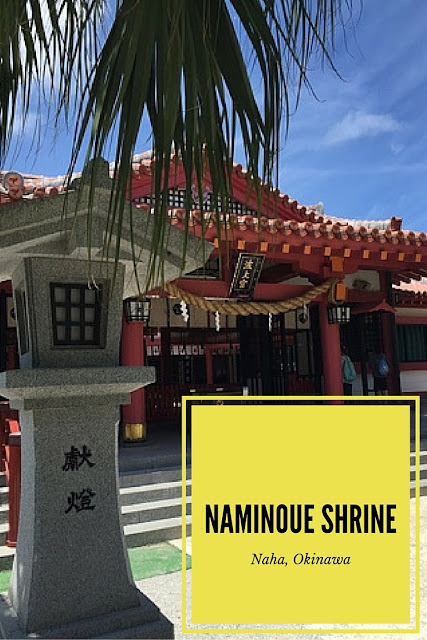 Naminoue Shrine is the main Shinto Shrine in Okinawa and is a great place to visit in Naha. It sits atop a rock overlooking the beach