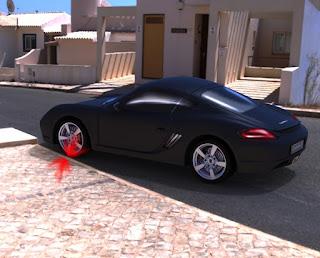 Invenção promete acabar com danos a rodas e pneus de carro durante estacionamento