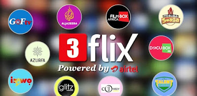 Mobile TV 247: 3Flix Mobile TV service, Airtel TV, channels tv youtube, nigerian newspapers, tv channel list, nigerian television authority, ait news, tvc news live, ait live, africa independent television