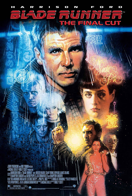 Blade Runner (1982), Movie Poster, Directed by Ridley Scott, starring Harrison Ford