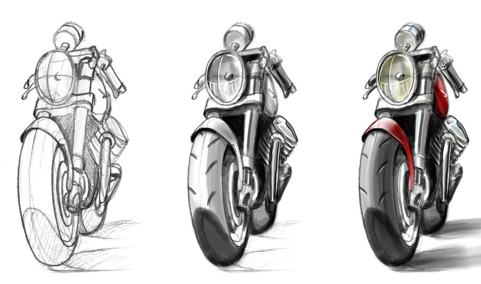 Moto Design E Passioni Alcuni Miei Schizzi