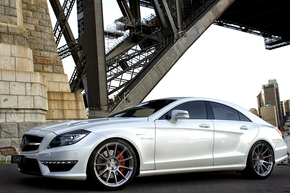 Mercedes benz c218 cls63 amg on hre performance wheels for Amg wheels for mercedes benz