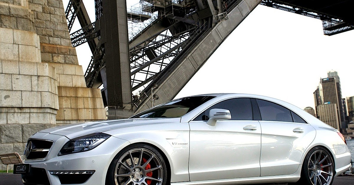 Mercedes Benz C218 Cls63 Amg On Hre Performance Wheels