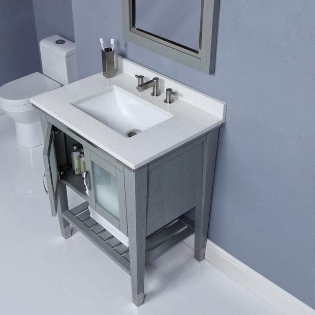 modern bathroom vanities - provide for small bathrooms