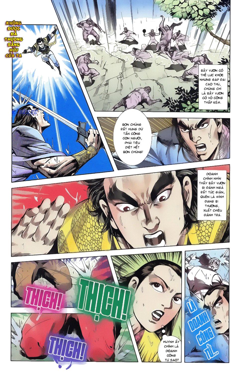 Tần Vương Doanh Chính chapter 17 trang 29