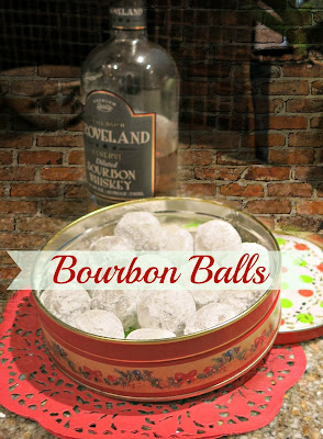 Bourbon Balls, shared by Granny Fabulosa