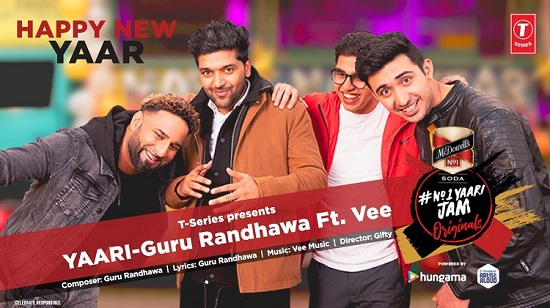 Yaari Lyrics & Video | Guru Randhawa | Happy New Year