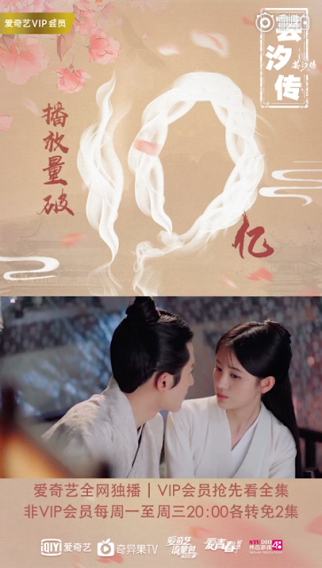 Legend of Yunxi 1 billion views