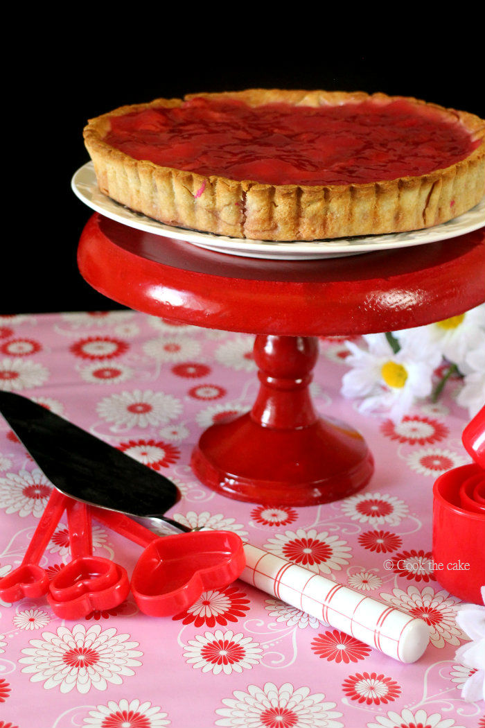 strawberry-pie, tarta-de-fresas