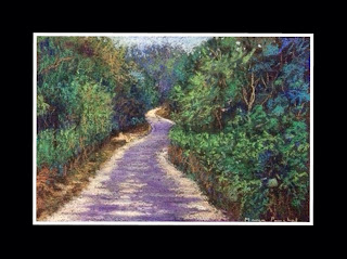 Soft pastel painting of COORG landscape by Manju Panchal