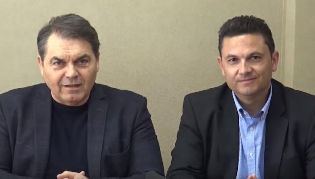 Ο Μάριος Ρέσκος υποψηφιος με τον συνδυασμό Αλλαγή Πορείας Δημήτρης Καμπόσος (βίντεο)