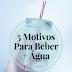 5 Motivos Pelos Quais Deverias Beber Mais Água
