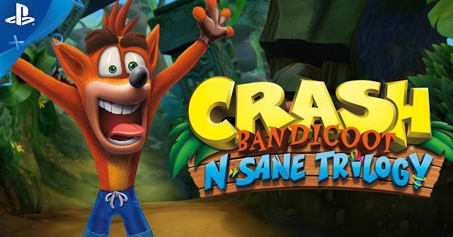 Έρχεται το Crash Bandicoot N.Sane Trilogy στο PS4