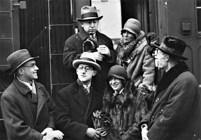 Kazimierz Wierzyński, Jan Lechoń, Antoni Słonimski, Jarosław Iwaszkiewicz, Maria Morska-Knaster