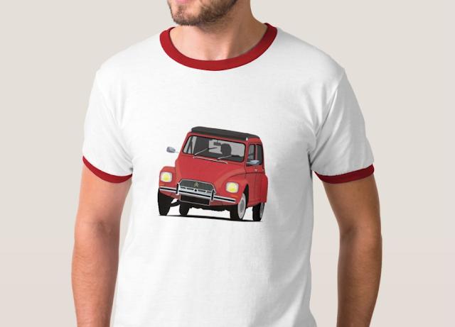 Citroën Dyane 6 autoklassikko t-paita