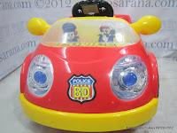 3 Mobil Mainan Aki Junior QJ1150AR Police Car