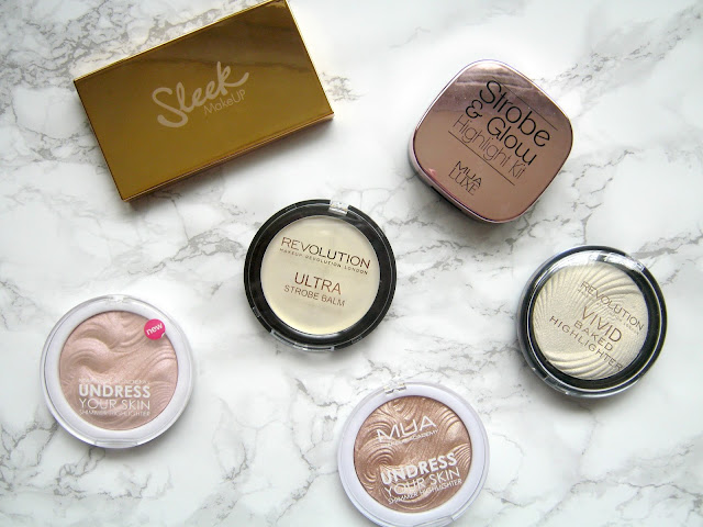 Best Budget Highlighters Under £10 Sleek Makeup Revolution MUA