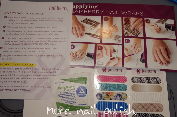 Jamberry nail wraps - review, swatches and wear test ~ More Nail Polish