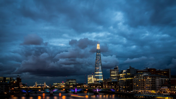 Wallpaper: London Panorama and The Shard