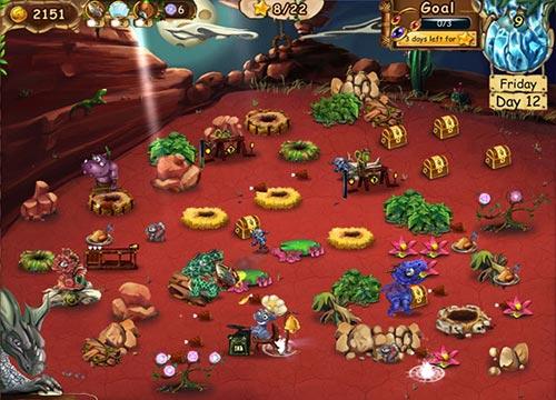لعبة الاميرة وتربية التنانين الصعيرة Dragon Keeper 2 للكمبيوتر