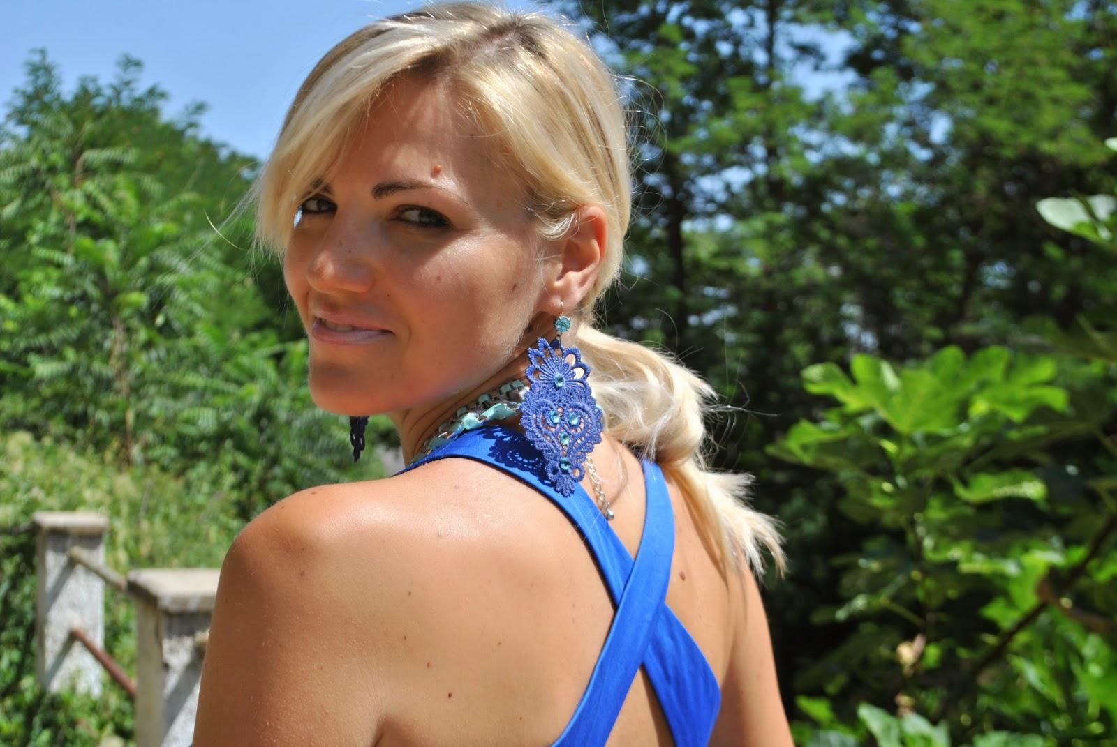 Sandro ferrone abito blu – Abiti alla moda a48293e22de