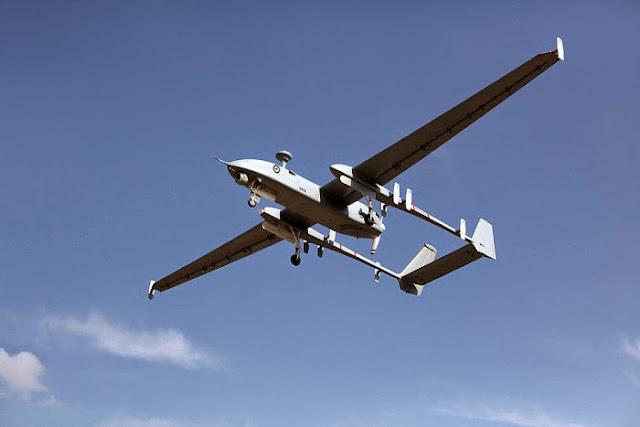 UAV Heron Australia saat operasi di Afghanistan