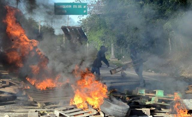 Guagua voladora mata 4 personas y desencadena protestas en Haina