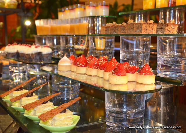 Sevilla's dessert station
