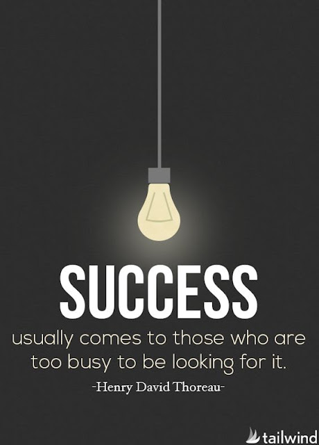 Great saying on being busy and success