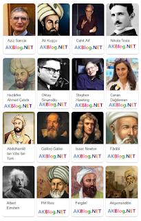 Türk Bilim Adamları Mucitleri isimleri