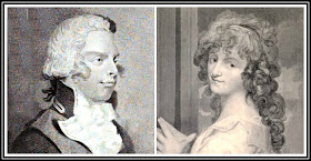 William, Duke of Clarence, from The Lady's Magazine (1793)  and Dora Jordan from The Life of Mrs Jordan by J Boaden (1831)