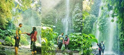 Explore Lombok, Indonesia [Cantiknya Air Terjun Benang Kelambu!]
