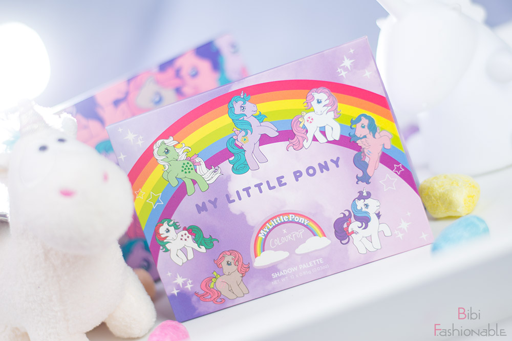 ColourPop My little Pony Pressed Powder Shadow Palette Titelbild