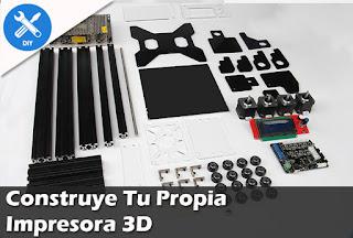 Arma tu propia Impresora 3D desde Cero!