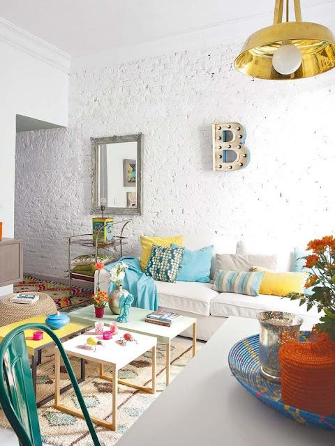 Accente tari de culoare și stil eclectic în Spania