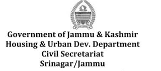 Recruitment of Experts under Housing for All (HFA), J&K on contractual basis