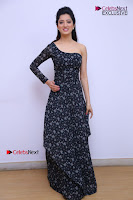Telugu Actress Richa Panai Stills in One Shoulder Floral Long Dress at Rakshaka Bhatudu Movie Interview  0078.JPG