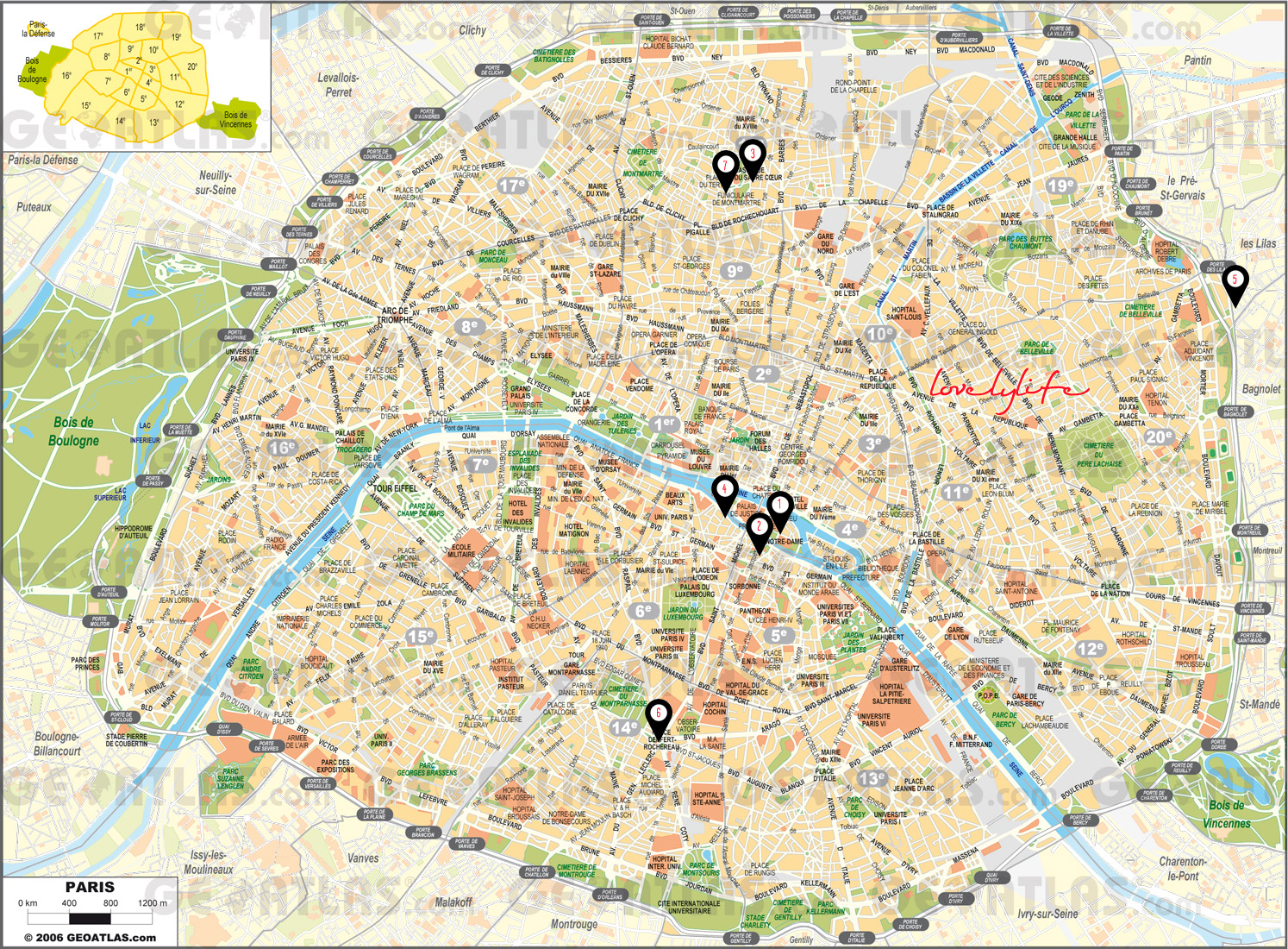 Sitios curiosos y gratis para ver en par s lovely life for Parigi non turistica