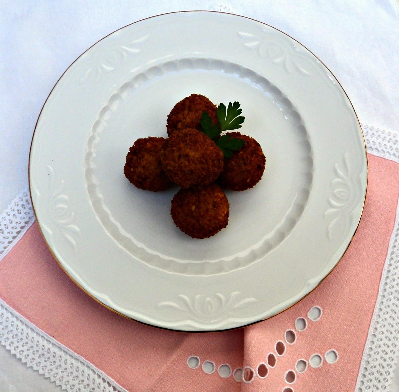 receta casera croquetas pollo setas