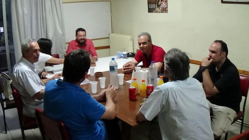 Αλεξανδρούπολη: Μια χαρά τα είπαν ΚΚΕ και Αστυνομικοί
