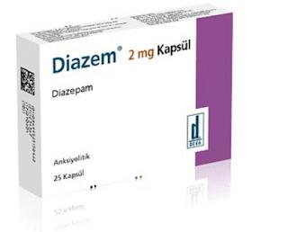 diazem yan etkileri
